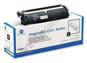 Genuine OEM Konica-Minolta 2300 Toner Cartridge - Black High Cap