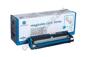Genuine OEM Konica-Minolta 2300 Toner Cartridge - Cyan High Capa