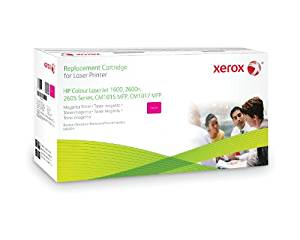 HP 124A (Q6003) Compatible MAGENTA Toner Pack by Xerox