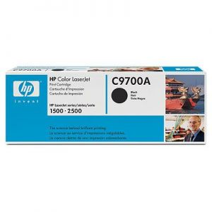Hewlett Packard 00A LJ 1500, 2500, BLACK (C9700A) HP121A