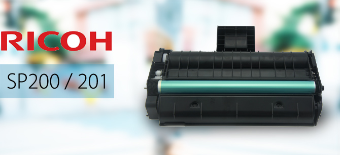 Ricoh SP200S 200SF 200N 201SF Toner Cartridge NEW
