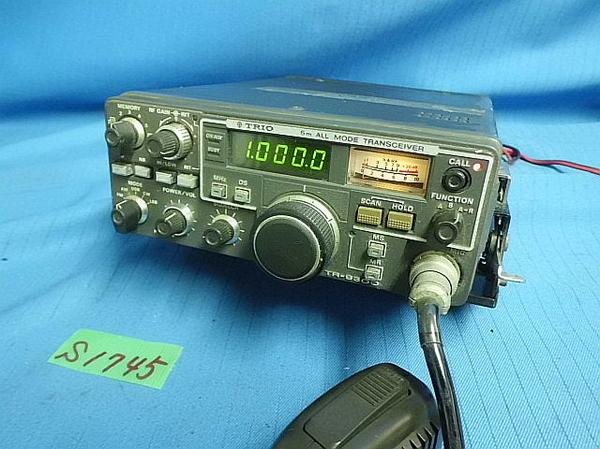 50MHz 6 m KENWOOD TRIO TR-9300 All Mode Transceiver