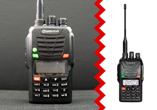 Two Way Radios Amateur Handheld Transceivers WOUXUN KG-UV6D